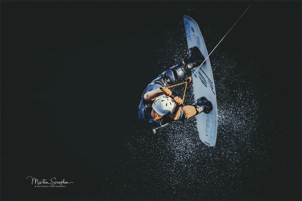 Sportfotograf Düren Wassersport Wakeboarding