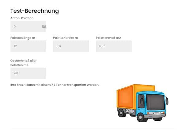 Webseiten Konfigurator Webdesign Homepage Formular