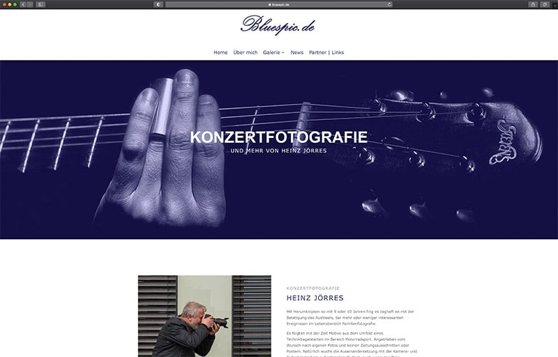 Homepageerstellung WordPress Düren Fotografie