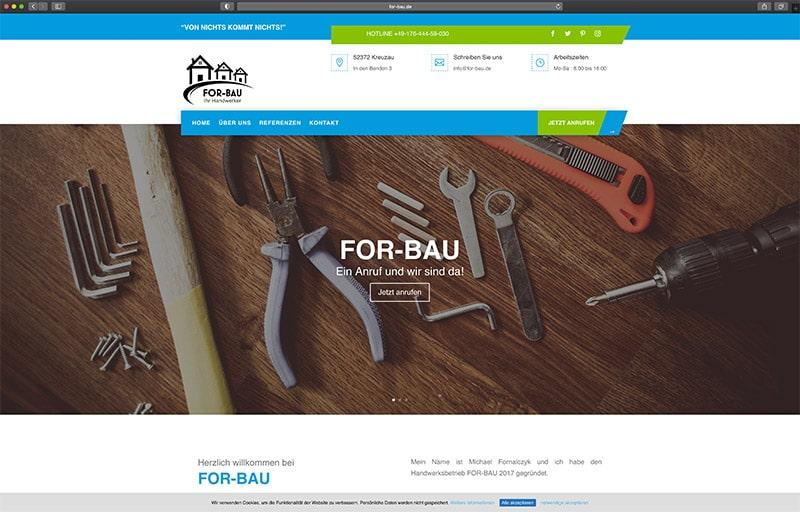 Homepageerstellung WordPress Düren